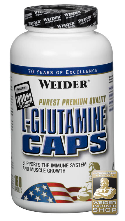 Weider Nutrition L-Glutamine Caps